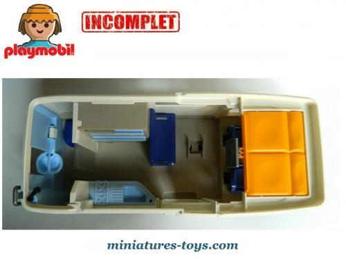 Le Grand Camping Car En Miniature De Playmobil Incomplet Miniatures Toys